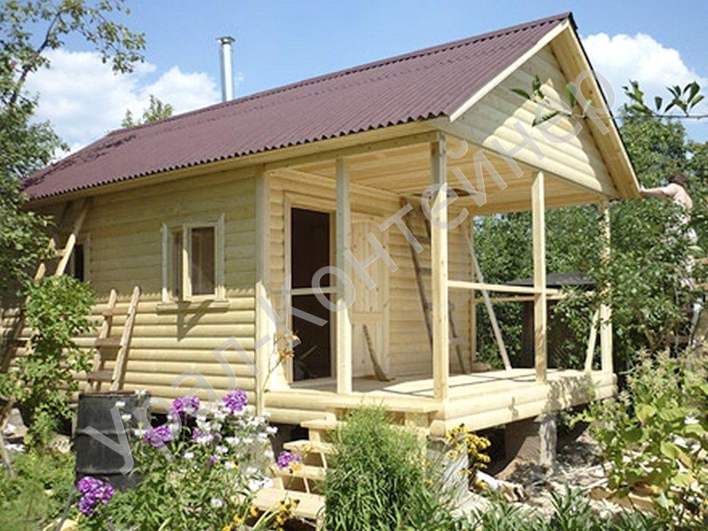 Садовый домик 5х4 своими руками