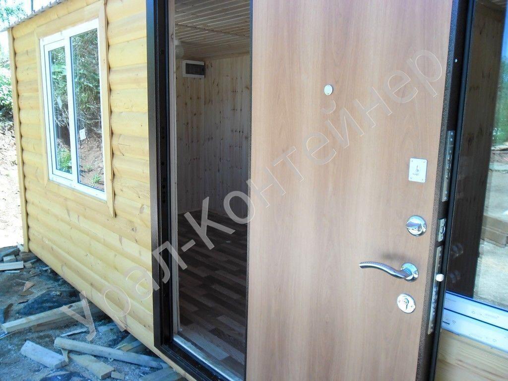 металлическая дверь для садового дома