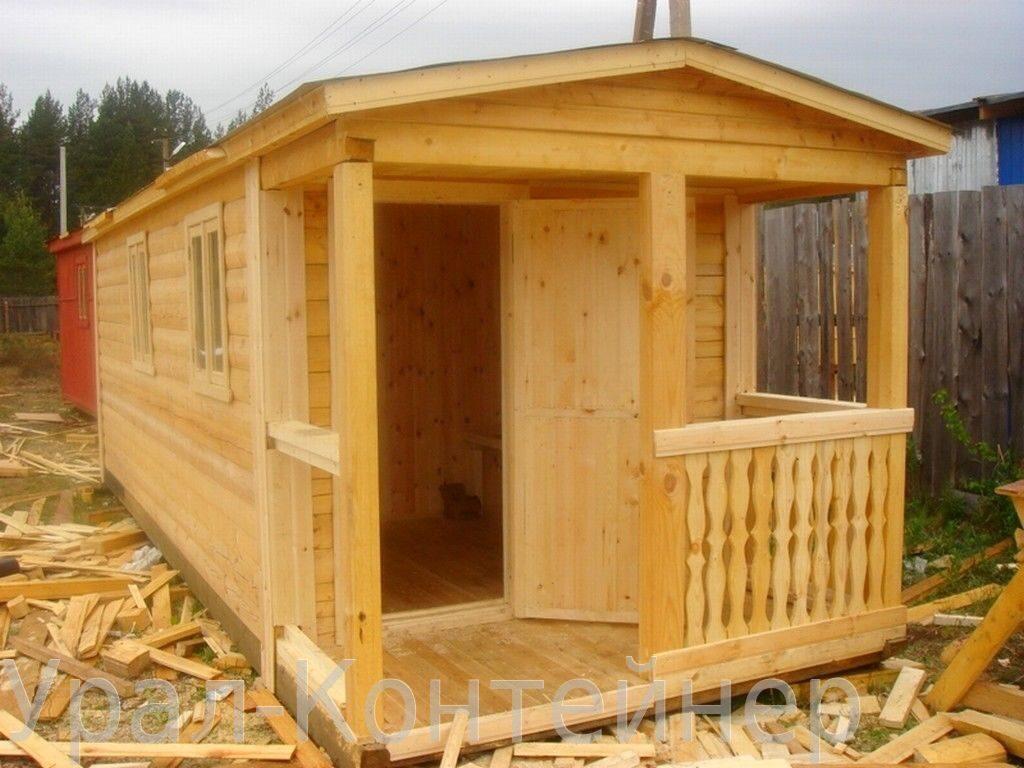 Рис 128045 - готовая баня 7х2,3м из профилированного бруса. с отделкой, электрикой.