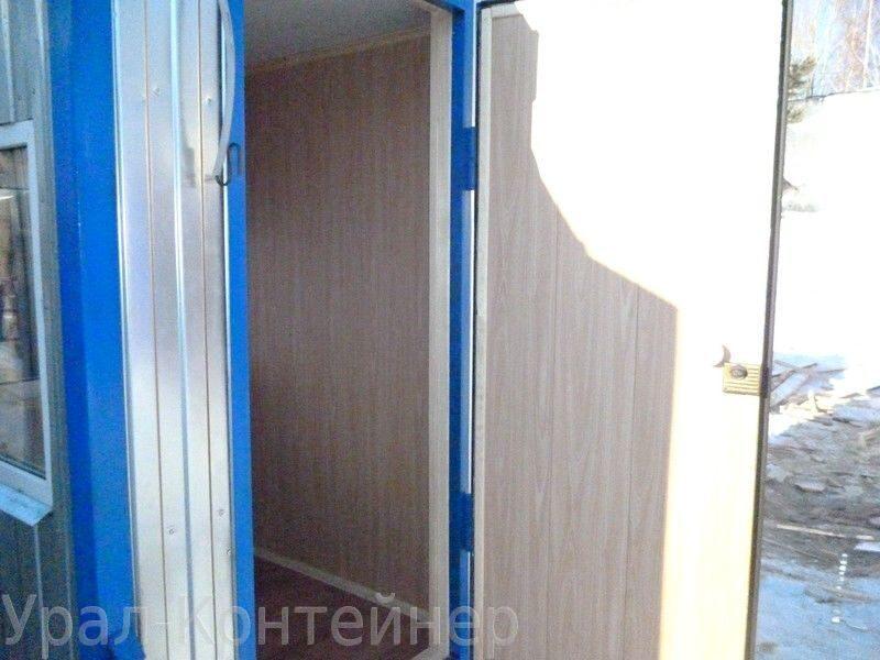 стальная дверь для бытовки